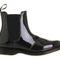 Dr. martens kensington faun chelsea boot black patent leather - ankle boots