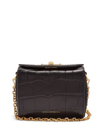bag leather bag leather crocodile black