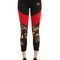 Standout printed stretch cotton leggings