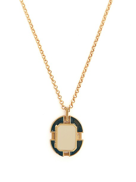 CERCLE AMEDEE necklace navy white jewels