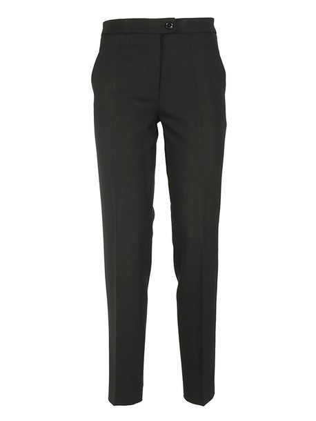 BOUTIQUE MOSCHINO classic black pants