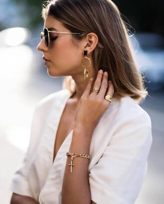 jewels tumblr jewelry gold jewelry minimalist jewelry earrings gold earrings bracelets ring gold ring