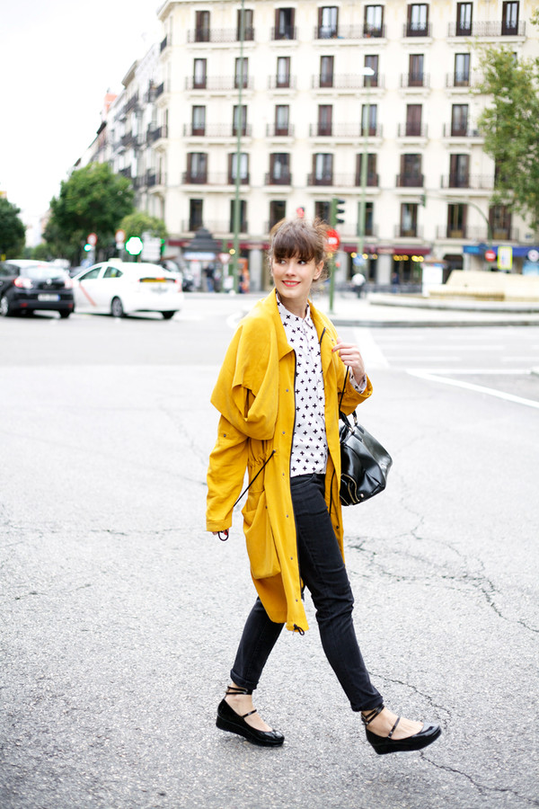 che cosa blogger bag yellow