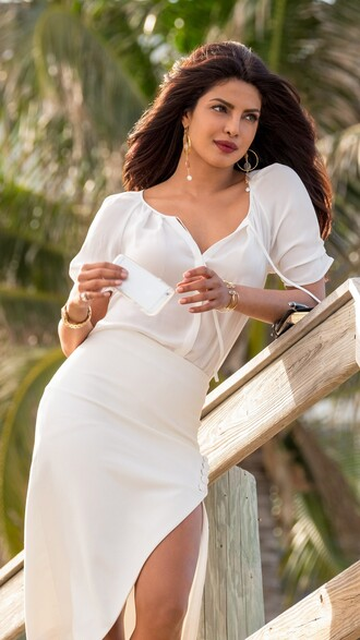 blouse baywatch priyanka chopra couture white white outfit summer summer outfits baywatch costumes movies outfits movie film white top white skirt workwear dress trendy trending dress trendingfashion victoria leeds villian fashionista summer dress romantic summer dress sexy sexy dress bodycon bodycon dress midi skirt slit slit skirt front slit skirt pencil skirt bodycon skirt white blouse sheer blouse button up blouse