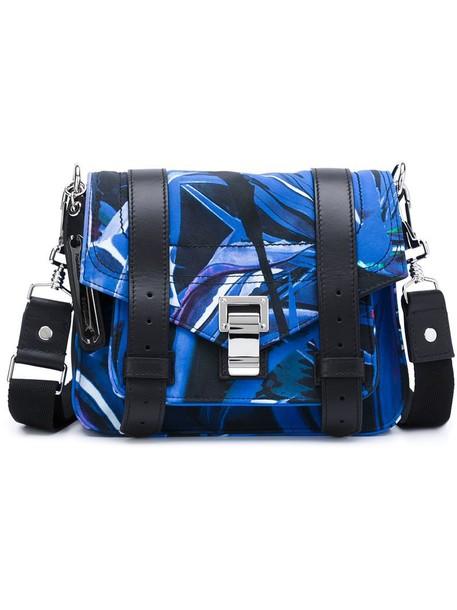 Proenza Schouler satchel women blue bag