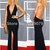 new 2014 summer black red carpet backless long maxi dress sexy split long prom dress OM136-in Apparel & Accessories on Aliexpress.com | Alibaba Group