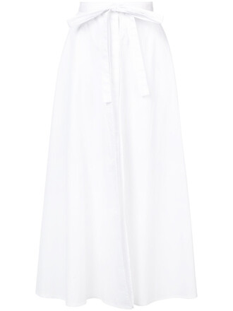 skirt wrap skirt women white cotton