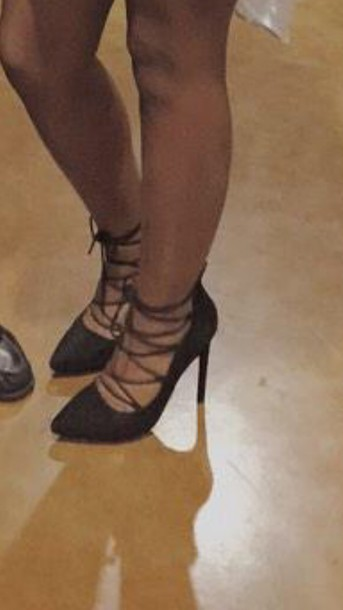shoes lace up heels black heels lace up heels