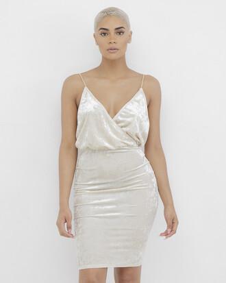 dress midi dress beige beige dress wrap dress velvet velvet dress