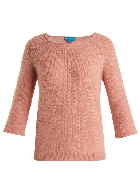 M.i.h Jeans sweater mohair light pink light pink