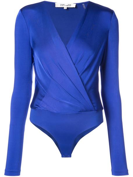 bodysuit style women blue underwear