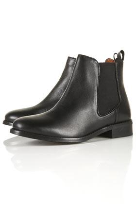 APRIL Classic Chelsea Boots - Flat Boots - Topshop