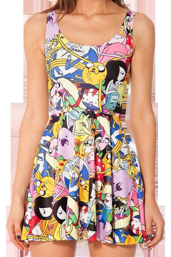dress adventure time