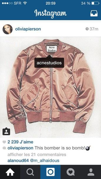 jacket acne studios