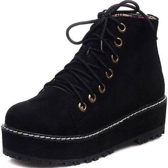 hair accessories high top sneakers creepers laceup shoes cool