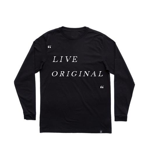 live original adult Long sleeve T Shirt