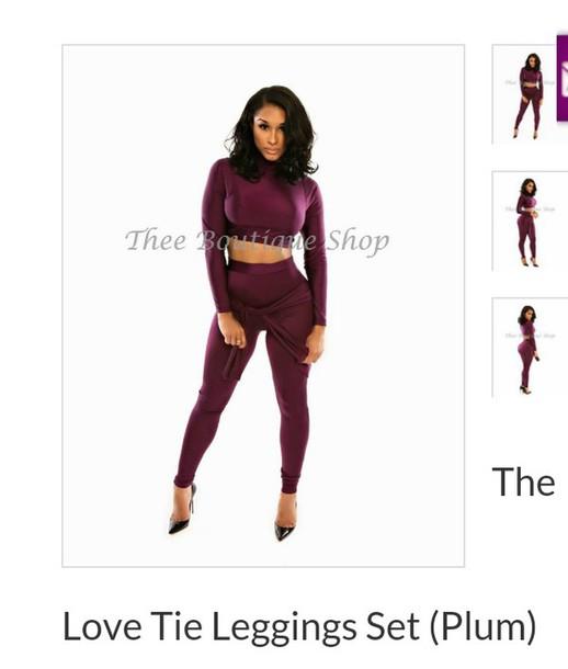 leggings outfit plum crop tops