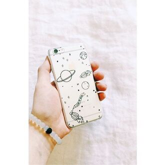 phone cover yeah bunny space moon stars iphone cover iphone case