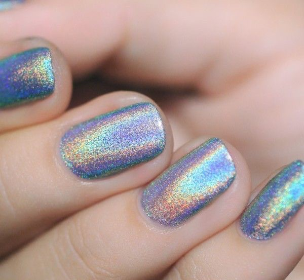 Nail Polish, Holographic, California Girl Beauty, Glitter