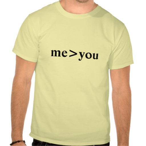 me greater than you - Shirt from Zazzle.com