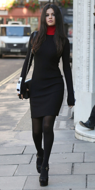 Warm Black Dresses
