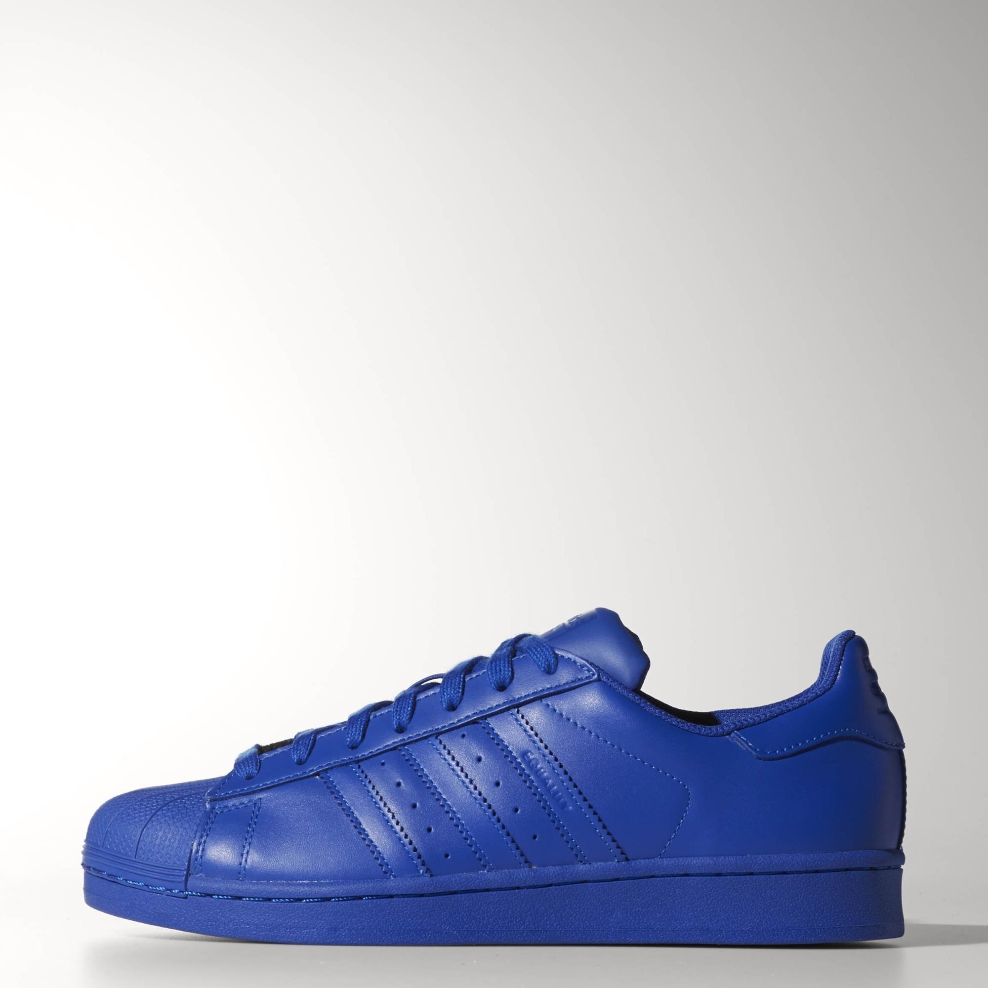 0975f3b6b734 adidas Superstar Supercolor Pack Shoes - Blue