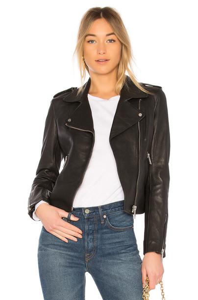 LTH JKT jacket biker jacket black
