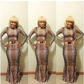 skirt,spandex skirt,python print skirt,long skirt,shirt