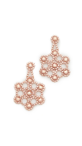 statement earrings rose gold rose statement earrings lace gold jewels