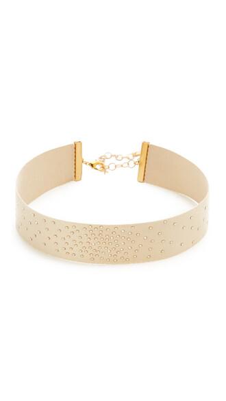 sparkle necklace choker necklace gold jewels