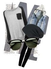 jacket,denim,jeans,hoodie,shirt,longsleeve shirt,pants,sunglasses,beanie,top