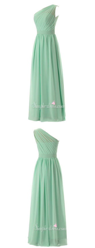 dress prom dress 2016 mint green prom dress one-shoulder prom dress long prom dress long prom dress uk