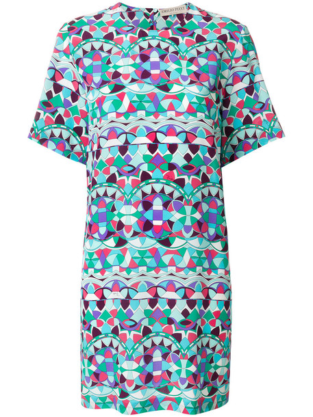 Emilio Pucci dress print dress women print silk