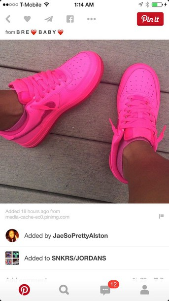 shoes neon nike shoes