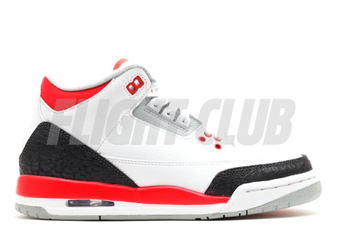 "air jordan 3 retro (gs) ""2013 release"" - Air Jordan 3 - Air Jordans  | Flight Club"