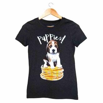 shirt pancakes t-shirt puppy puppies