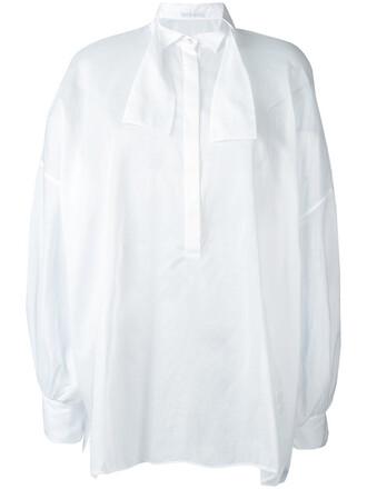 shirt sheer shirt sheer women white cotton top