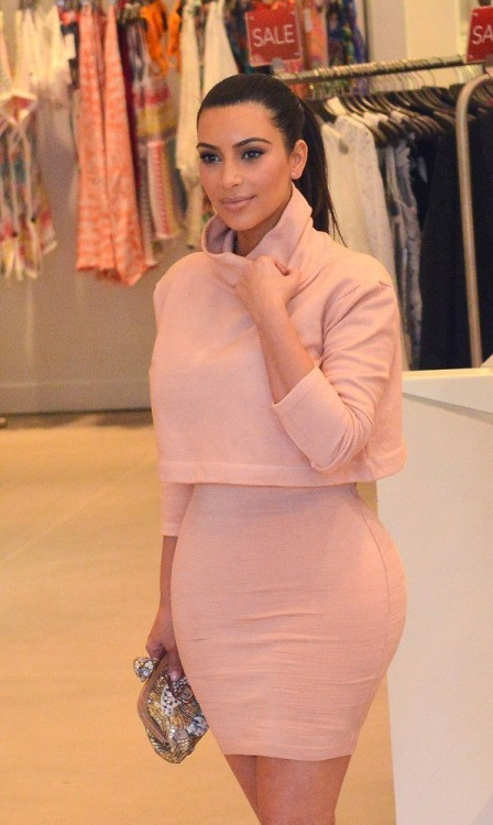 Kim k crop two piece outfit