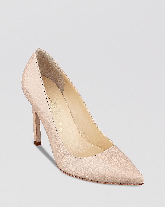 IVANKA TRUMP Pointed Toe Pumps - Carras High Heel | Bloomingdale's