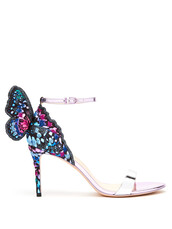 butterfly,sandals,leather sandals,leather,shoes