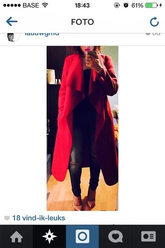 coat red coat red