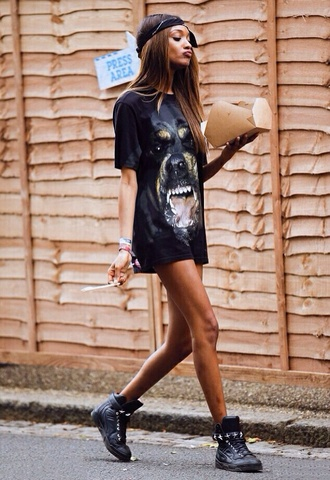 dog t-shirt t-shirt with print black t-shirt