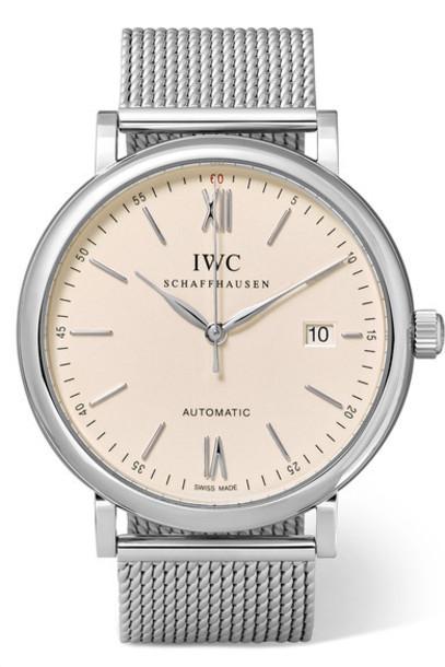 IWC SCHAFFHAUSEN watch silver jewels