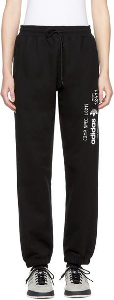 ADIDAS ORIGINALS BY ALEXANDER WANG pants black