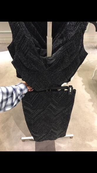 skirt black sparkle black skirt