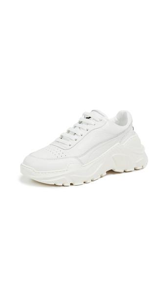 Joshua Sanders Zenith Sneakers in black / white