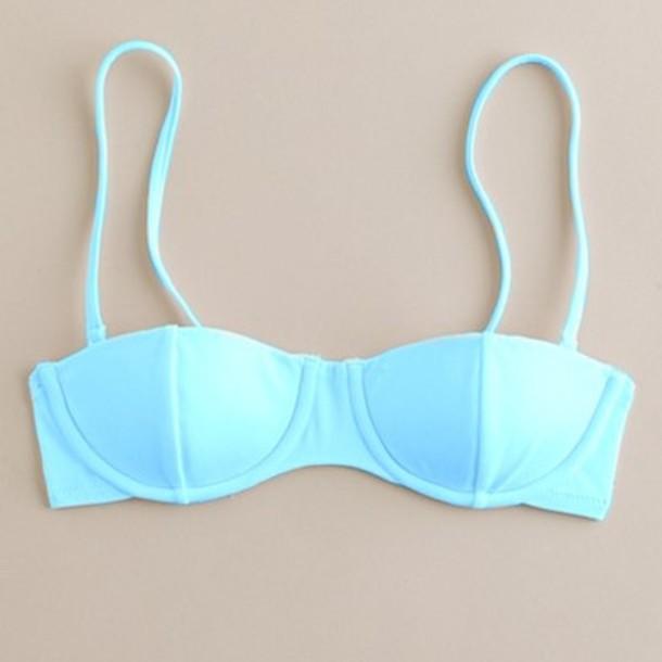 swimwear blue bikini swimwear