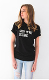 Sorry i'm not listening tee – nyct