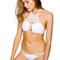 Frankies bikinis mimi top - white