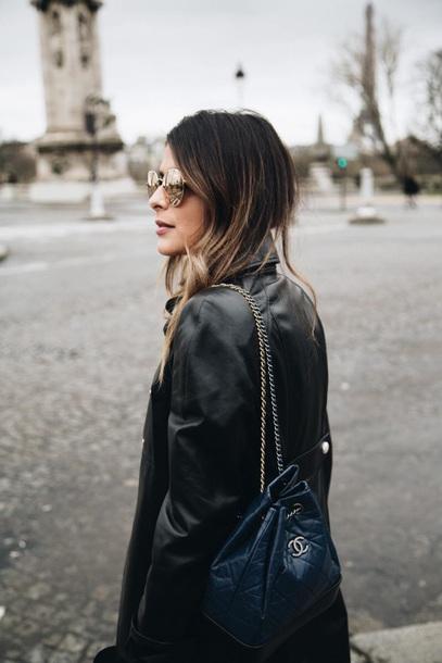 098dc4cdf6d1 bag chanel gabrielle backpack backpack black backpack jacket sunglasses  Accessory chanel bag chanel